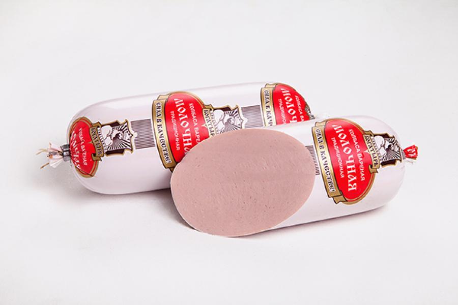 Колбаса «Молочная» традиционная + Сервелат «Фирменный», 150 г в подарок