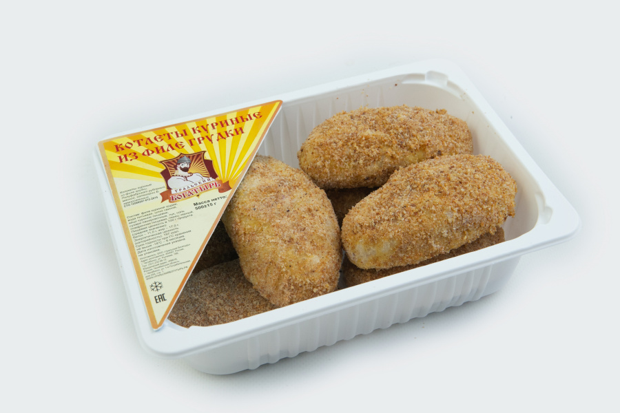 Котлеты куриные из филе грудки