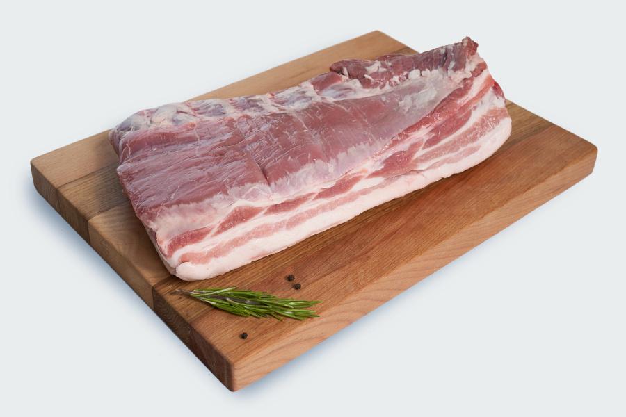 Грудинка без кости свиная